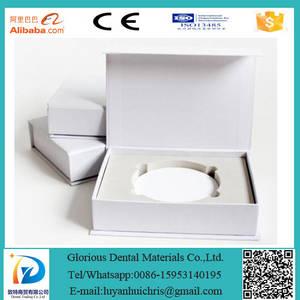 Wholesale dental zirconia materials: Dental Materials ST/HT Zirconia Block