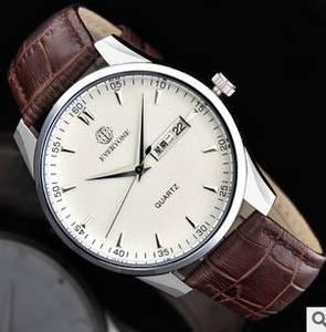 Wholesale fashion belt: Foreign OEM Custom-made Wholesale Watches Mens Korean Fashion Belt Waterproof Men Quartz Watch