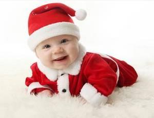 Wholesale winter hat: Autumn and Winter Children's Long Sleeved Suit Santa Claus Jacket + Pants + Hat L0909 P32