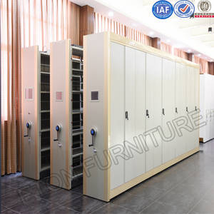 Wholesale file: Steel Trackless Free Shuttle Moving File Shelves Mass Cabinet
