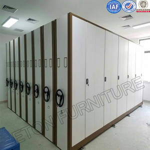 Wholesale document: School Library Steel Material Movable Documental Shelf Cabinet