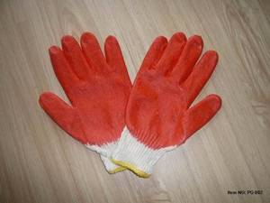 Wholesale safety mask: Latex Coated Gloves