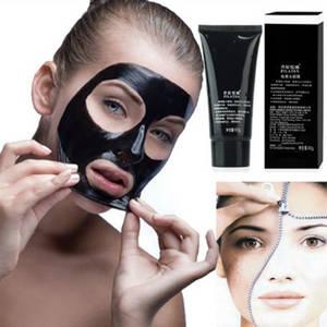 Wholesale black liquid eyeliner: Pilaten Suction Black Mask Remove Blackhead Spot Pore Cleaner Peel Off Facial Mask Face Mask