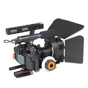 Wholesale camera rig: YELANGU Professional DSLR Camera Cage Kit Rig with Matte Box and Follow Focus for GH4/ A7S