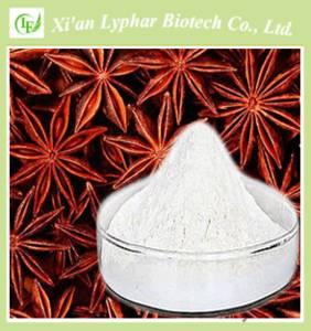 Wholesale shikimic acid: High Purity 98% Shikimic Acid(CAS:138-59-0)