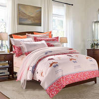 Wholesale Factory Direct Price 100% Cotton Bedding Set Include Bedsheet,Duvet Cover and Pillow Cases