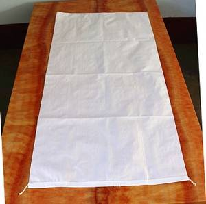 Wholesale pp woven bag: High Quality White PP Woven Bag 50kg