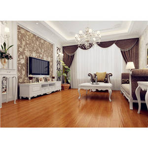 Wholesale hdf flooring: Premium MDF/HDF Laminated Floor UV Finish Paint for Interior Rooms