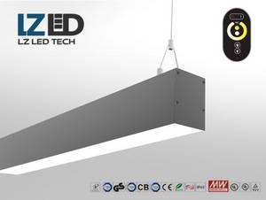Wholesale wholesale sheet sets: LZ-LLI-1200F-40W Modern Profile Linear Light,Office LED Linear Light,Hanging LED Work Light