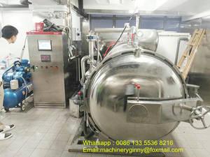 Wholesale canned vegetable: Sterilization Retort Machine for Canned Food/Vegetable/Meat/Fish/Beverage