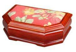 Wholesale tapestry: Tapestry Decorated Wooden Jewelry Gift Box