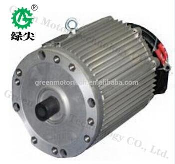 3kw 20kw Electric Brushless Motor For Vehicle From Green