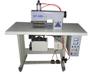 Wholesale paper tablecloth: Ultrasonic Real Leather Punching Machine