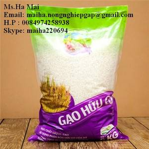 Wholesale Rice: Jasmine White Rice 5% Broken Long Grain Rice-Organic Rice-Soft Rice