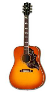 Wholesale Musical Instrument: Hummingbird Acoustic-Electric Guitar, Heritage Cherry
