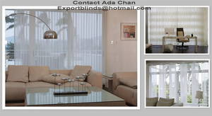 Wholesale sheers: Stylish Vertical Blinds Costum Made Blinds Elegant Vertical Blinds Fabric Sheer Double Blinds