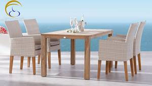 Wholesale wicker furniture: Poly Rattan Dining and Coffee Set