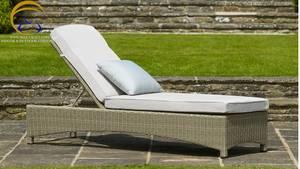 Wholesale Garden & Patio Sets: Poly Rattan Sun Lounger