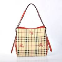 Sell Burberrys Medium Smoked Check Hobo Bag