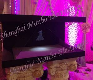 Wholesale Advertising Design: 3D 270 Degrees Holo Diamond Platform