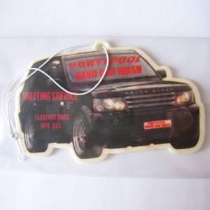 Wholesale car air freshener: Custom Promotion Hanging Paper Car Air Freshener