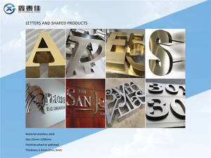 Wholesale Advertising Design: Stainless Steel Letters/Words/Advertizing Letters