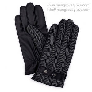 Wholesale Leather Gloves & Mittens: Mens Winter Sheepskin Leather Gloves, Genuine Leather Gloves