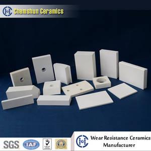 Wholesale ceramic tile: Weldable Alumina Ceramic Tile From China Manufacturer