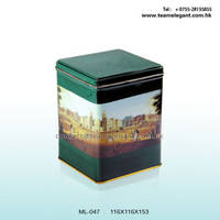 Square Tin Boxes,Tea Package,Tea Tin Boxes,Herb Tin