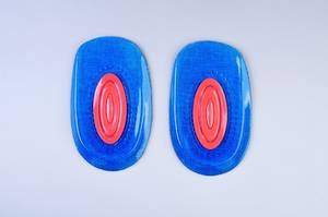 Wholesale cup pad: Heel Support Pad Cup Spur Gel Silicone Shock Cushion Orthotic Insole Plantar Fasciiti