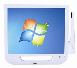 Wholesale lcd touch screen monitors: Touch Screen 17Inch Japan LCD Monitor with Intra Oral Dental Camera