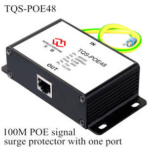 Wholesale Internet Service: 100M POE Signal Surge Protector with One Port