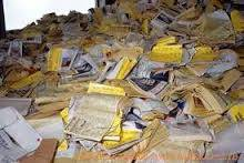 Wholesale Waste Paper: Waste Yellow Pages Telephone Directories