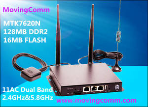 Wholesale 4 pin aviation connector: 4G LTE High Power Dual Band  Car WiFi Router Wireless Router