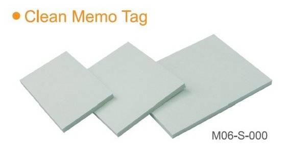 paper tag: Sell Clean Memo Tag