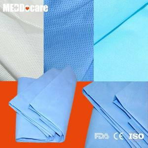 Wholesale mattress covers: Protective Hotel Homeuse PE CPE Mattress Cover Disposable PP SMS Bed Sheets Manufacturers