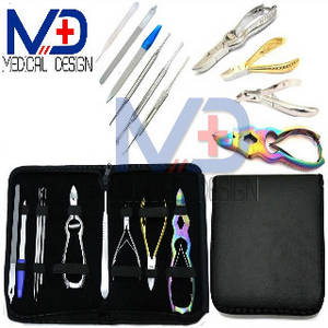 Wholesale nail clippers: Manicure Pedicure Nail Cutters Clipper Niper Kit