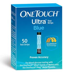 Wholesale blood glucose meter: Onetouch Ultra Test Strip 50ct