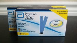 Wholesale glucose test strips: Precision Xtra Blood Glucose Test Strips
