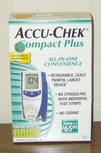 Wholesale glucose meter: Accu-Chek Compact Plus Blood Glucose Meter