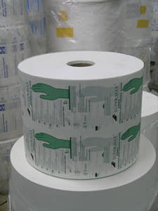 Wholesale coated paper: Medical,Dental Disposable Sterilization Coated Paper Reels for Medical Gloves Packing Use,Cheap