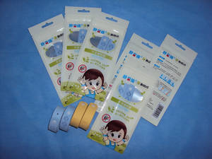 Wholesale bracelets: Baby Essential Oils Citronella Mosquito Repellent Bracelet & Children Mosquito Bracelet,With CE/ISO