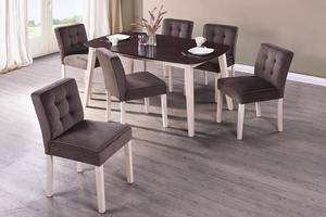 Wholesale Dining Room Furniture: Edith Dining Set(1+6)