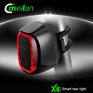 Wholesale flash light: Hot USB Battery Smart Bicycle Bike Light Tail-lamp Taillight Safety Tail Lights Switch Flash Light