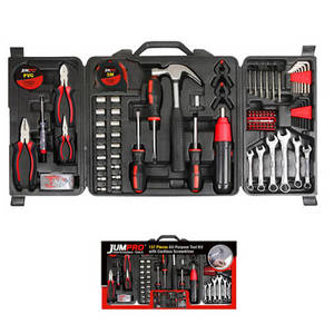 Wholesale pc power: 137pc All-Purpose Power Hand Tool Kit with Cordless Screwdriver