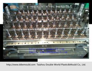 Wholesale beverage bottle: Pneumatic Valve Gate Self-locking 48CAV PET Preform Moulds for Bottles Food&Beverage
