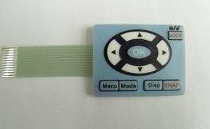 Wholesale membrane key pad: Carton Sealing Rubber MembraneSwitch Panel Adhesiver Sticker