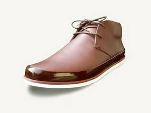 Wholesale borders: Casual Urban Leather Shoe for Order