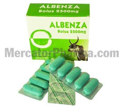 How often to take albenza