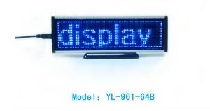 Wholesale Advertising Design: LED Desktop Display Panel Show Message Advertising LED Screen Tabletop LED  Display